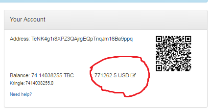tbc wallet today